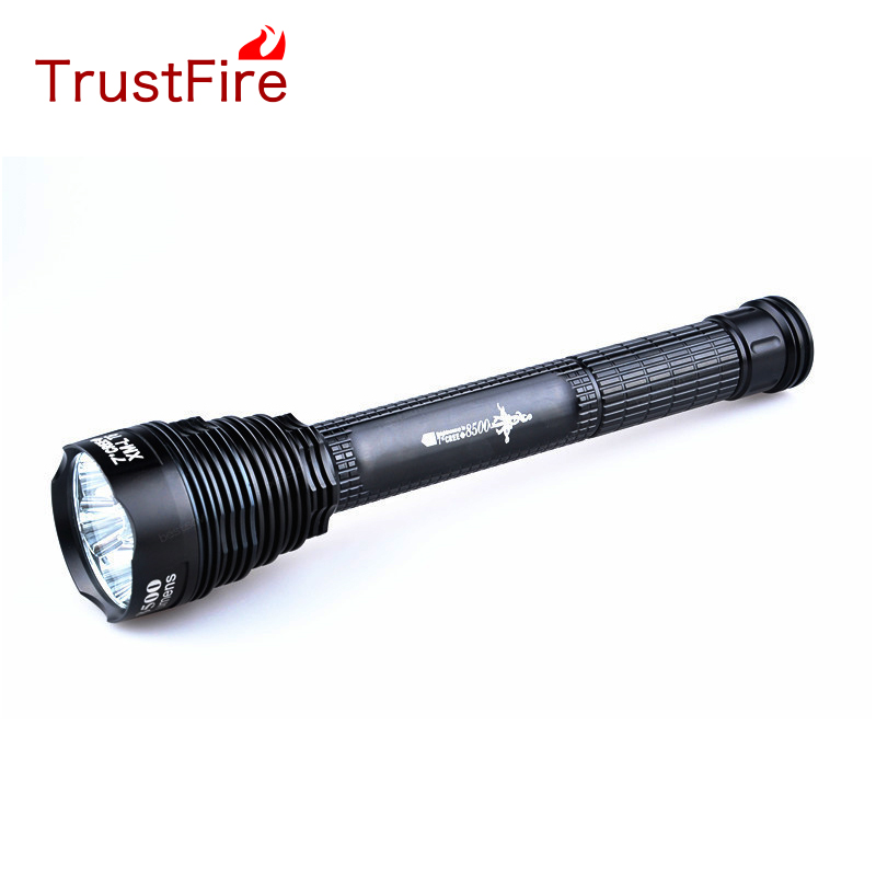TrustFires 8500LM Cree XML 7T6 LED Flashlight Torch Lamp TR-J18 outdoor
